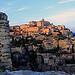 Gordes au coucher du soleil by Boccalupo - Gordes 84220 Vaucluse Provence France