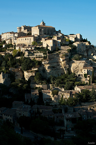 Le village de Gordes by Asymkov