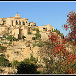 Village de Gordes en automne by Photo-Provence-Passion - Gordes 84220 Vaucluse Provence France