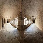 Cloister corner, Senanque Abbaye by wessel-dijkstra - Gordes 84220 Vaucluse Provence France