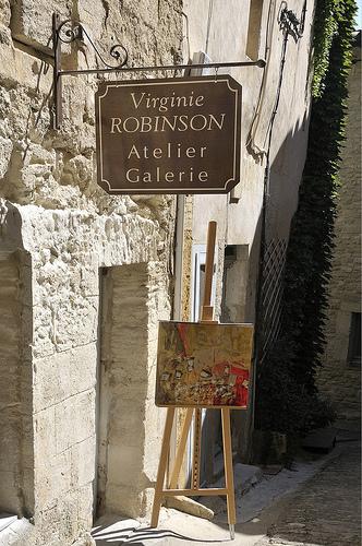Atelier Galerie d'artiste - Gordes by Massimo Battesini