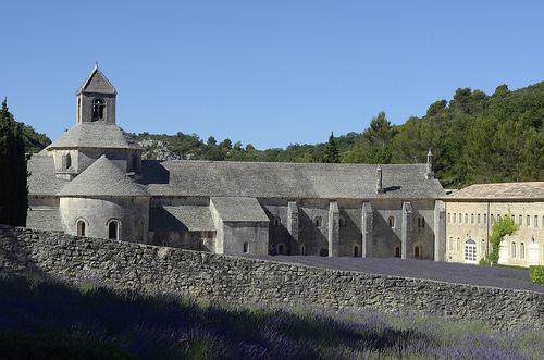 Provence - Lavande à l'Abbaye de Sénanque par Massimo Battesini