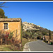 Route pour Gordes by  - Gordes 84220 Vaucluse Provence France