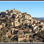 La montagne de maisons by Photo-Provence-Passion - Gordes 84220 Vaucluse Provence France
