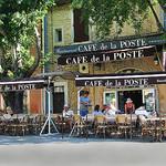 Café de la Poste à Goult par marvgl - Goult 84220 Vaucluse Provence France