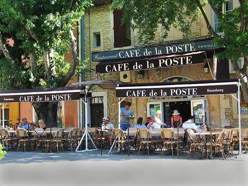 Café de la Poste à Goult by marvgl