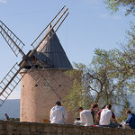Windmill, Goult par jprowland - Goult 84220 Vaucluse Provence France