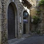 Provence - dans les rues de Goult par Massimo Battesini - Goult 84220 Vaucluse Provence France