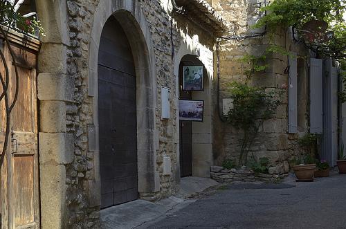Provence - dans les rues de Goult par Massimo Battesini