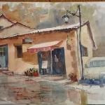 Aquarelle de Provence : Joucas par skschang - Joucas 84220 Vaucluse Provence France