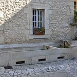 Lavoir en pierre de Joucas by Jean NICOLET - Joucas 84220 Vaucluse Provence France