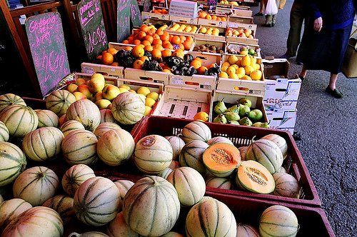 Market - Melone and other Fruits par wanderingYew2