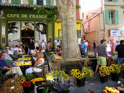 Café de France  par Olivier Colas