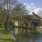 berges de la Sorgue : Isle sur la Sorgue par elyco87 - L'Isle sur la Sorgue 84800 Vaucluse Provence France