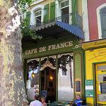 Café de France, l'Isle-sur-la-Sorgue par Olivier Colas - L'Isle sur la Sorgue 84800 Vaucluse Provence France