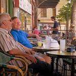au Café de France, l'Isle-sur-la-Sorgue by Olivier Colas - L'Isle sur la Sorgue 84800 Vaucluse Provence France