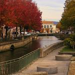 L'Isle-sur-Sorgue en automne par Super.Apple - L'Isle sur la Sorgue 84800 Vaucluse Provence France