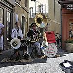la mini fanfare de l'Isle-sur-la-Sorgue by Massimo Battesini - L'Isle sur la Sorgue 84800 Vaucluse Provence France