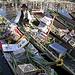Barques du Marché Flottant de l'Isle sur la Sorgue par Massimo Battesini - L'Isle sur la Sorgue 84800 Vaucluse Provence France