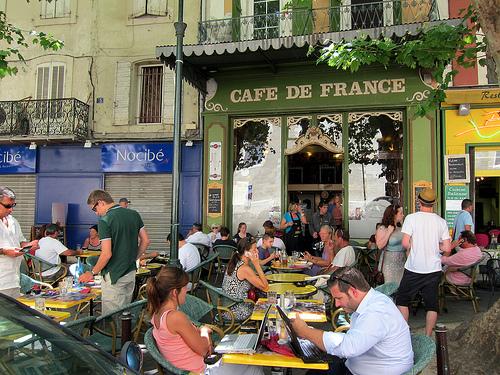 Terrassse du Café de France par __Olivier__
