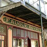 """Devanture Belle-Epoque """"Fauque Beyret"""" par Klovovi - L'Isle sur la Sorgue 84800 Vaucluse Provence France"""