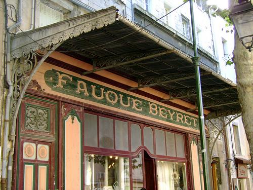 """Devanture Belle-Epoque """"Fauque Beyret"""" par Klovovi"""