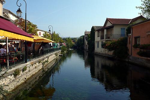 Canal de l'Isle sur la Sorgue par lepustimidus