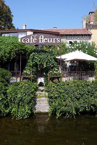 Cafe Fleurs Au Jardin d'Aubanel by lepustimidus