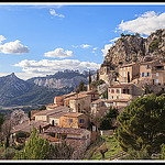 Village La Roque-Alric et les dentelles de Montmirail by Photo-Provence-Passion - La Roque Alric 84190 Vaucluse Provence France