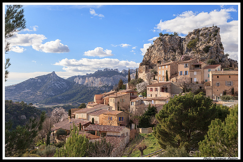 Village La Roque-Alric et les dentelles de Montmirail par Photo-Provence-Passion