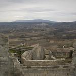 Vue sur Bonnieux depuis Lacoste - Provence par cpqs - Lacoste 84480 Vaucluse Provence France