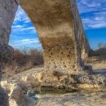 Pile du pont julien by Gabi Monnier - Lacoste 84480 Vaucluse Provence France