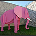 L'lphant rose by  - Lacoste 84480 Vaucluse Provence France