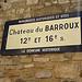 Château du Barroux : demeure historique by gab113 - Le Barroux 84330 Vaucluse Provence France