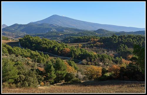 Le Mont Ventoux vu du Barroux par Photo-Provence-Passion