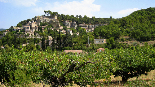 Le Beaucet, village perché par Olivier Colas