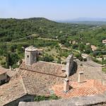 Les toits du village du Beaucet - vu depuis son Château par Gabriel Jaquemet - Le Beaucet 84210 Vaucluse Provence France