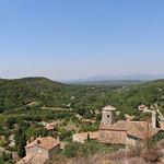 Vue depuis le Château du Beaucet par Gabriel Jaquemet - Le Beaucet 84210 Vaucluse Provence France