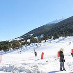 Ski au Mont Serein - face Nord du Ventoux par gab113 - Malaucène 84340 Vaucluse Provence France