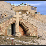 La Chapelle Sainte Croix au sommet du Mont-Ventoux by  - Le Barroux  Vaucluse Provence France