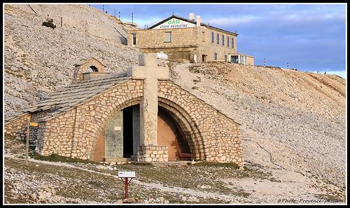 La Chapelle Sainte Croix au sommet du Mont-Ventoux by Photo-Provence-Passion