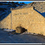 Fontaine de la Grave - Mont-Ventoux by  - Lacoste  Vaucluse Provence France