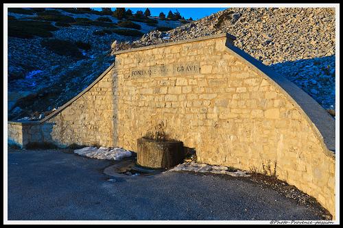 Fontaine de la Grave - Mont-Ventoux by Photo-Provence-Passion