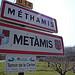 Entrée de Méthamis par  - Méthamis 84570 Vaucluse Provence France