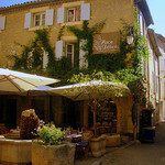 La place des delices by  - Lourmarin 84160 Vaucluse Provence France