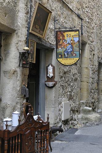 Provence - Antiquités à Lourmarin par Massimo Battesini