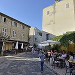 Rue piétonne à Lourmarin par Massimo Battesini - Lourmarin 84160 Vaucluse Provence France