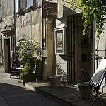 Lourmarin : galerie du Temple par Massimo Battesini - Lourmarin 84160 Vaucluse Provence France