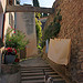 Old street of Malaucène and cat! by  - Malaucène 84340 Vaucluse Provence France