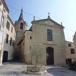 Place de l'église à Malemort-du-Comtat par gab113 - Malemort du Comtat 84570 Vaucluse Provence France